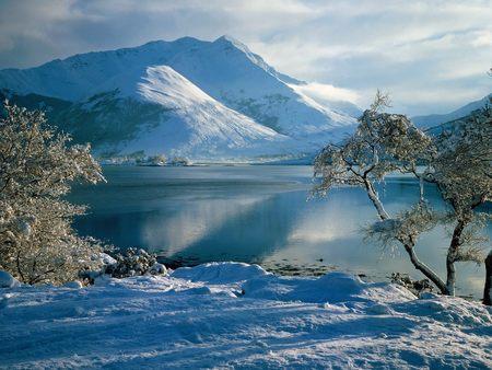 Snowy Highlands Scotland