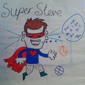 Super Steve Mentor Pic