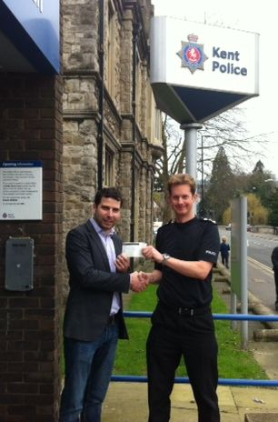 Cheque from Police edit