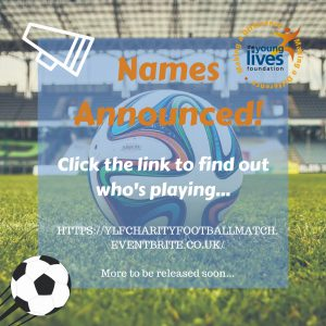 Celebrity Charity Match | Names Announced! - The Young Lives